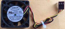 EVERFLOW R124010BM 12V 0.12A Ball Bearing 40mm x 10mm Cooling Fan 3 pin wire