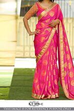 Wedding Indian Pakistani Bollywood Sari Designer Silk Party Wear Wedding Sarees