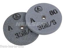 Confezione di 2 MOLE di ricambio per smerigliatrici Bench 150 mm-fine e grossolana