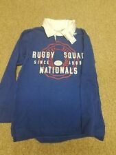 NWT Med 7/8 Boys Sport Rugby Shirt Jersey The Children's Place Collared Athlete