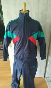 Vintage Adidas Trainingsanzug D8/XL/56 Jogginganzug Hose Jacke Track Suit 90er