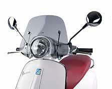 Genuine Vespa Primavera 50cc / 125cc / 150cc Tint Flyscreen with Fitting Kit