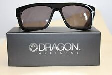 Dragon Viceroy Sunglasses *NEW* Jet Black/Grey [NEW IN BOX] UV PROTECTION
