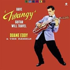 Duane Eddy Have Twangy Guitar Will Travel 180gm Vinyl LP Download New/