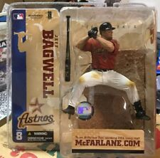 McFarlane Sports MLB Baseball Houston Astros Jeff Bagwell Series 8 Red Jersey