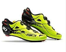 Brand NEW SIDI SHOT Road Cycling Shoes - Bright Yellow Size EUR 44 US10