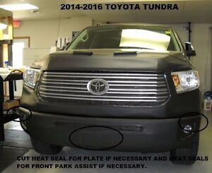Lebra Front End Mask Cover Bra Fits 2014-2021 TOYOTA TUNDRA 14-21 W/O Flares