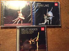 Ballet Music [6 CD NEU] Schwanensee Swan Lake + Adagios + Nussknacker Nutcracker