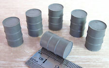 DINKY/CORGI SIX OIL DRUMS 1:50 FOR LORRY LOAD O GAUGE