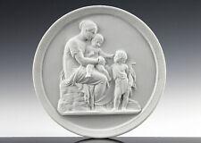 Thorvaldsen Frühes Royal Copenhagen Relief um 1850 Klassizismus