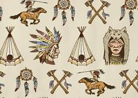 A1| Cool Cartoon Indian Poster Size 60 x 90cm Native American Poster Gift #15914