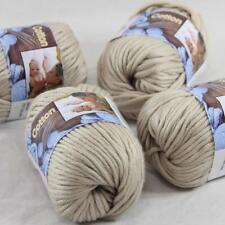 AIP Sale 4 Balls x50gr Super Soft Pure Cotton Chunky Shawl Hand Knitting Yarn 10