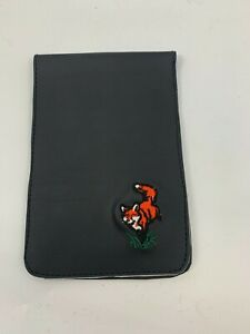 Sunfish Golf Score Card Holder Black Small Fox Logo A082