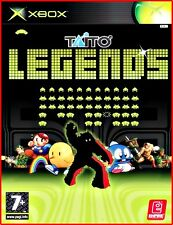 XBOX Taito Legends -TIATO GAMES SPIELESAMMLUNG -SPACE INVADERS, RAINBOW ISLAND