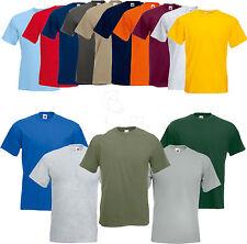 FRUIT OF THE LOOM Super Premium T Shirt Unisex Männer S M L XL XXL 3XL (2) FOL