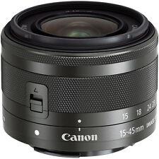 Canon EF M 15-45mm IS STM für die EOS M Neuware vom Canon Fachhändler schwarz