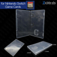 Replacement Case for Nintendo Switch Game Cart Spare Clear Cartridge Game Box
