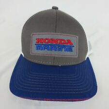 Honda Marine Hat Genuine Merchandise Truckers Hat Mesh Boating Dad Gift Gy Blu