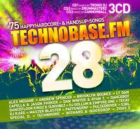 CD TechnoBase.FM Vol. 28 von Various Artists 3CDs