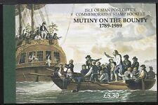 ISOLA DI MAN - Libretto - 1989 - Ammutinamento del Bounty