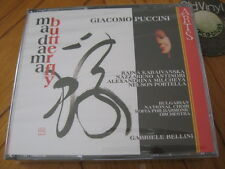 2 CD BOX PUCCINI Madama Butterfly Gabriele Bellini Kabaivanska 1994 SEALED OVP