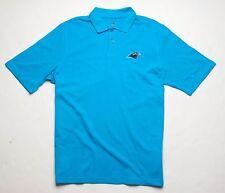 REEBOK Carolina Panthers Polo Shirt (M) Blue