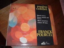 """FRANK POURCEL """"MARCIA TURCA-DANZA RITUALE DEL FUOCO..."""" E.P. ITALY'62"""