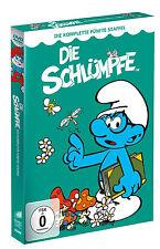 4 DVDs *  DIE SCHLÜMPFE - DIE KOMPLETTE STAFFEL 5  # NEU OVP <