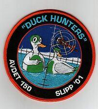 "USCG PATCH - ""DUCK HUNTERS"" AVDET 150 SLIPP'01"