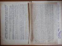 Volantino Laboratorio vaccinogeno UGO PAGNINI CASTEL DI LAMA ASCOLI PICENO 1948