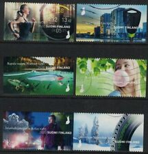 2020 Finland, Made in Finland, complete set postally used.
