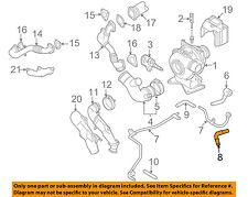 GM OEM Turbocharger Turbo-Return Hose 94013125
