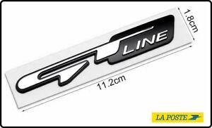 Emblème emblème GT-LINE KIA ,Sportage Ceed Picanto Sorento PEUGEOT