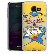 Samsung Galaxy A3 (2016) Silikon Hülle Case - DUCK!