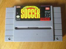 World League Soccer / Jeu SNES / Cartouche seule US NTSC