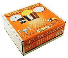 Buffing and Polishing Kit, 6- Metal Polish, Buff Wheel