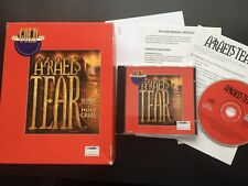 AZRAEL'S TEAR Search For The Holy Grail Pc Cd Rom ORIGINAL BIG BOX