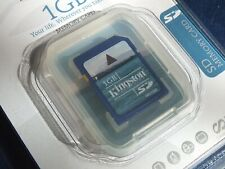 New In Factory Sealed Packaging Authentic Kingston 1GB SD Card Lifetime Warranty