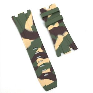 AUDEMARS PIGUET Royal Oak-For Offshore Camouflage Replacement belt band rubber