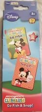 Mickey Mouse Clubhouse Cards~2 Games
