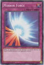 1x YuGiOh Mirror Force - YS15-ENF21 - Shatterfoil - 1st Edition Lightly Played
