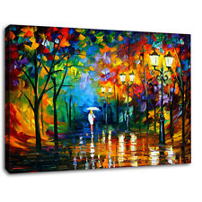 Canvas Wall Art Print Modern  Abstract Landscape Painting Decor Picture Unframed