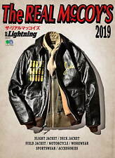 The Real McCoy's 2019 book leather flight deck jacket A 2 military vintage