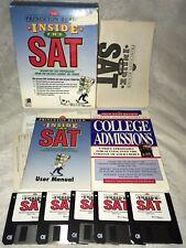 "RARE Princeton Review: Inside The SAT (IBM PC, 1995) - COMPLETE, 3.5"" Disks"