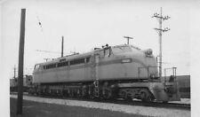 L430  RP 1940/50s CHICAGO SOUTH SHORE LINE RAILROAD ENGINE #802