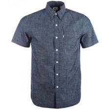 Camicie casual e maglie da uomo a manica corta blu Levi's