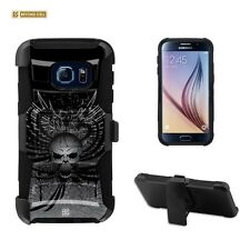 Beyond Cell Shell Case Armor Kombo For Samsung Galaxy S7 Wing Skull