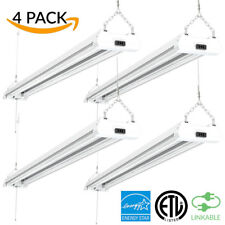 SUNCO 4 PACK SHOP LIGHT UTILITY LED 40W (260W) 4500 LUMEN 5000K (DAYLIGHT) CLR