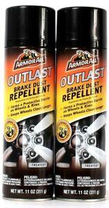 2 Count Armor All 11 Oz Outlast Brake Dust Repellent Keeps Wheels Clean Longer