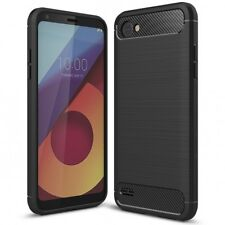 LG Q6 Handy Hülle von NALIA, Dünnes TPU Silikon Cover Case Gummi Schutz Bumper